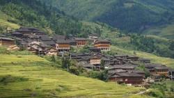 龙脊梯田景点-黄洛瑶寨