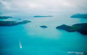 【圣灵群岛图片】#消夏计划#澳洲 汉密尔顿 大堡礁 心形岛 图片赏析