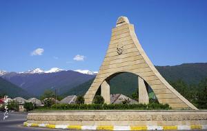 【阿塞拜疆图片】#消夏计划#【阿塞拜疆】向西向北,去远眺高加索的雪峰