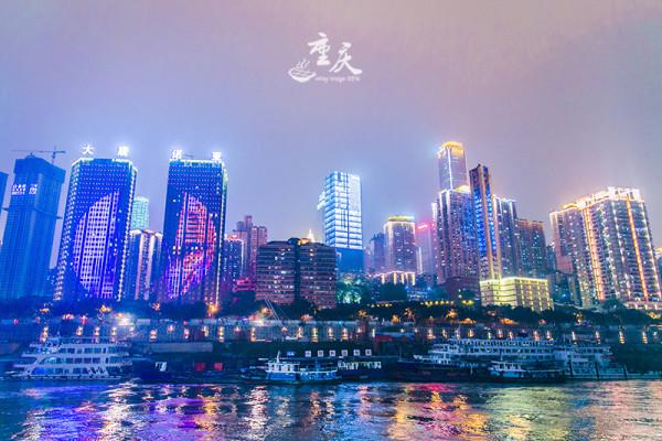 重庆晚上风景图片