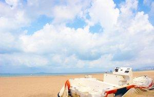 【蜈支洲岛图片】#消夏计划#听说这个夏天,三亚的阳光和大海更配呢~