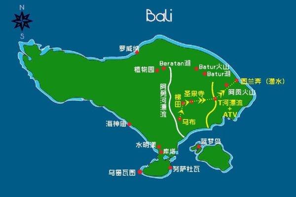 巴厘岛潜旅,这辈子第二次为案入警局(库塔 水明漾 乌布 图蓝本和蓝梦