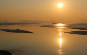 【乳山图片】辞旧迎新——送夕阳与迎朝阳
