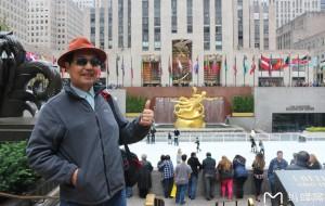 【纽约图片】北美之旅...纽约洛克菲勒中心广场