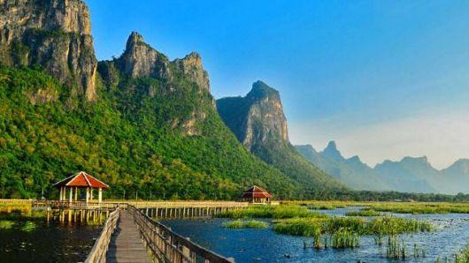 华欣 三百峰国家公园·红海豚湾 猴子岛木船出海一日游(含午餐)