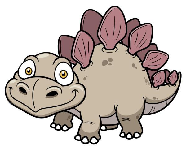妈妈是长颈龙,爸爸是霸王龙~我,是三角龙,我们是一家人!