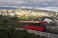 惠灵顿丨一辆开往惠灵顿心脏的红色缆车
