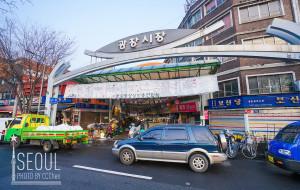 韩国美食-广藏市场