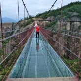 玻璃桥景区石牛寨图片