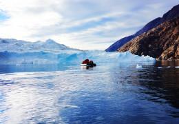 我眼中的北极风光:(一)波澜壮阔的北极大冰川