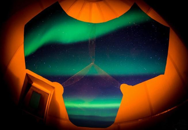 全球限量十个星球小屋,躺着把极光看完!-遇见旅行