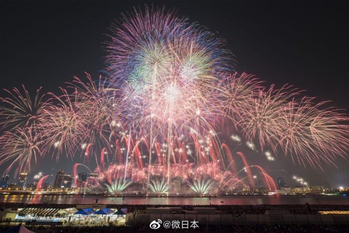 淀川 花火 2020