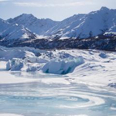 阿拉斯加冰川徒步,亲自踏足这片外太空的幽蓝空间_图10