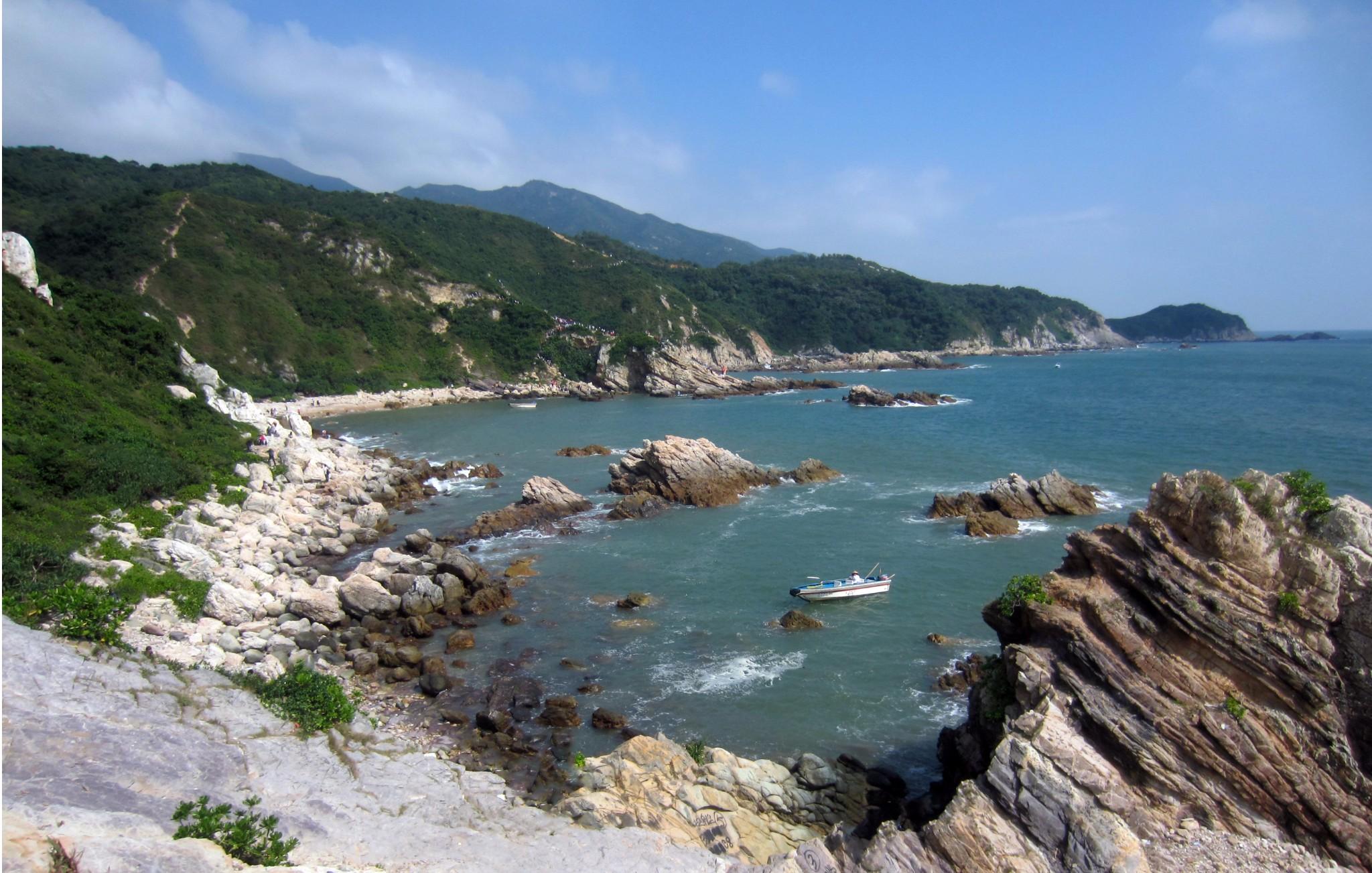 深圳最美海岸线 — —东西冲徒步穿越最强攻略
